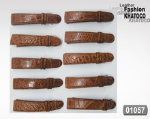 KHATOCO Crocodile Leather Watch Strap 01057