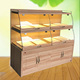 Free design bakery furniture wood bread display stand/bread display cabinet