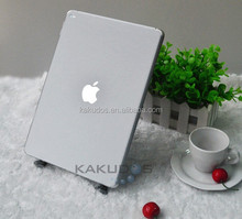 silver brushed aluminum skin sticker for ipad air 2
