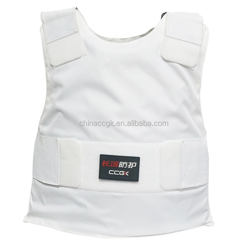 Newly bullet and stab proof vest Tactical inner bullet proof vest level iiia concealable fashion bullet proof vest