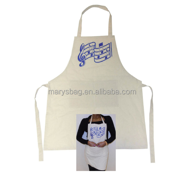Natural Cotton Chef's Apron