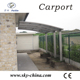 Polycarbonate and aluminum carport mobil hall