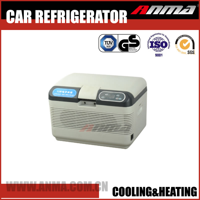 12L cooling & heating car refrigerator portable mini car fridge freezer electric car cooler