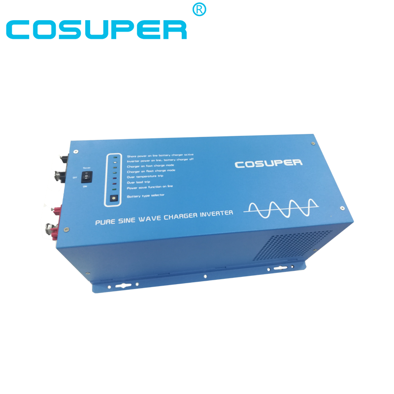 3500w Pure Sine Wave Power Inverter 48v Dc To 120v/240v Ac Solar Panel Inverter Electrical & Solar Home Improvement