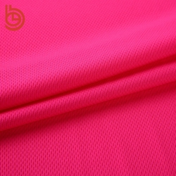 Fashion 100 polyester knit elastic jersey fabric for sports wear/sports jerseys