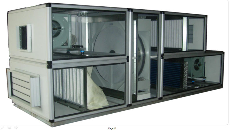 Air Handing Unit Ahu With Heat Recovery Wheel Buy Air