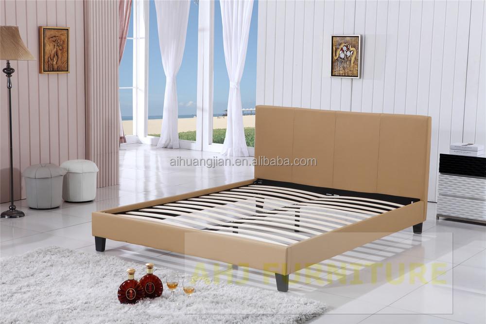 Sex Bed Frame Wooden Bed Frame Strengthen Wooden Slats Bed Frame