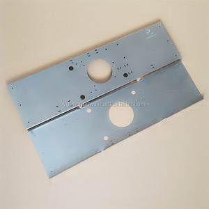 Instruments carbon steel sheet cover with holes stamping parts
