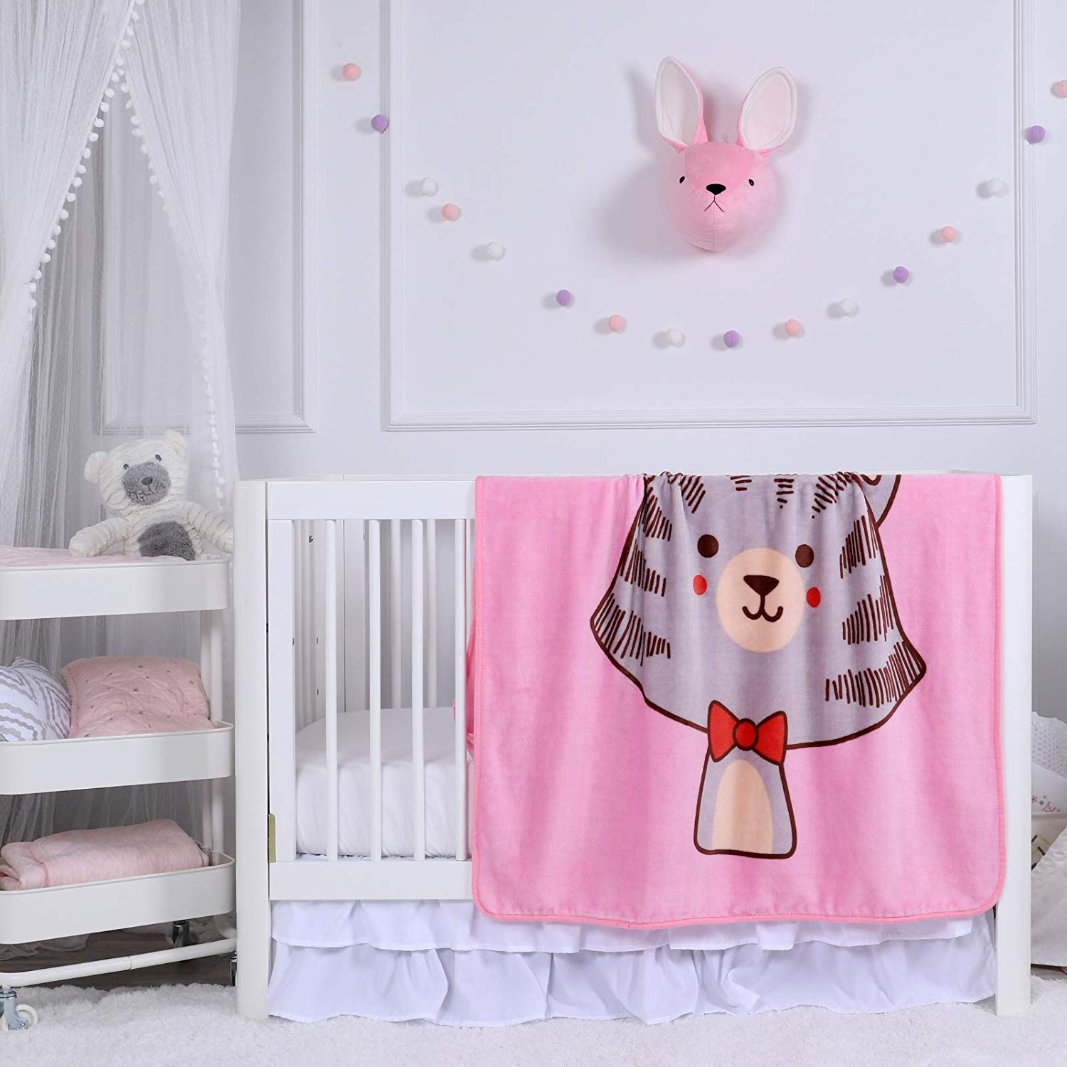 wholesale custom design kids throw baby blanket