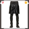 2016 Hot sale leather pants latest style running pants for boys