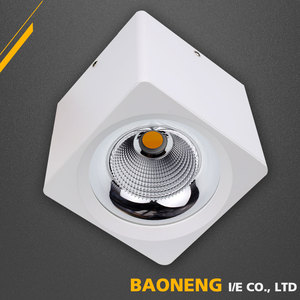 Warm White Color Temperature(CCT) Modern Ceiling Dimmable COB LED Downlight 30W
