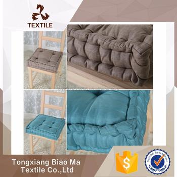 sitzkissen boden 4040 cm gestrickte gute qualitat holz sofa bodenkissen rund