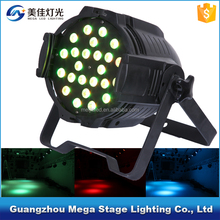 China high quality wash 3in1led par 64 light 36x3w led par 64 rgb dmx wall led uplighting