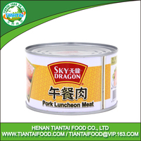 list of preserved foods canned pork luncheon meat