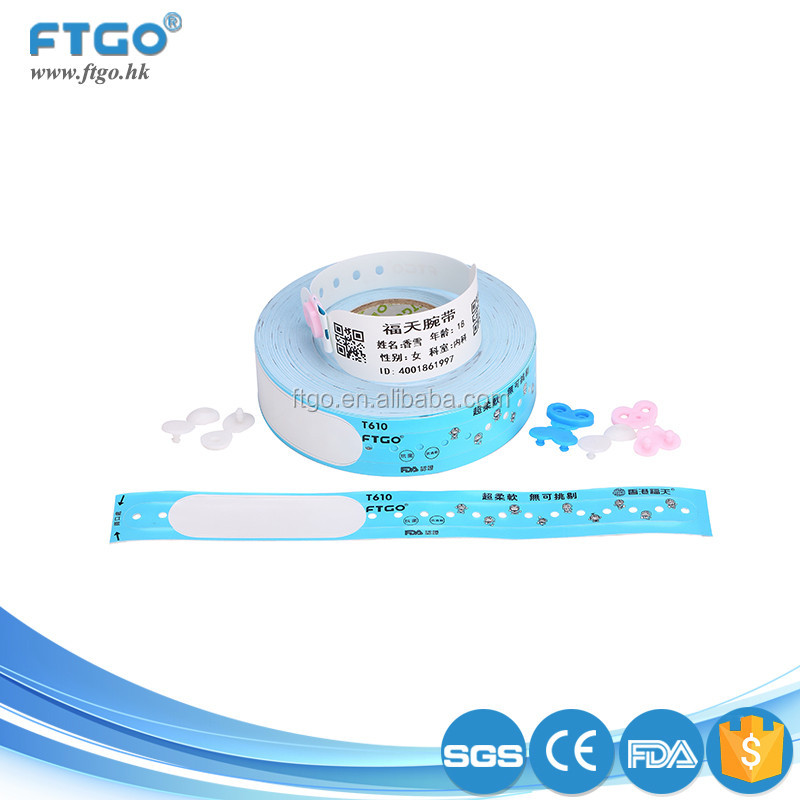 CE FDA Certificated The Saft Of Wristband With Id Children
