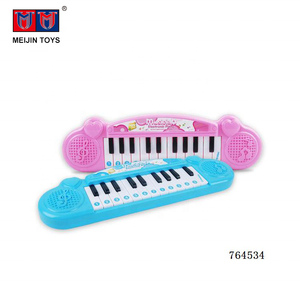 22 keys music plastic toys keyboard piano electronic organ for kids