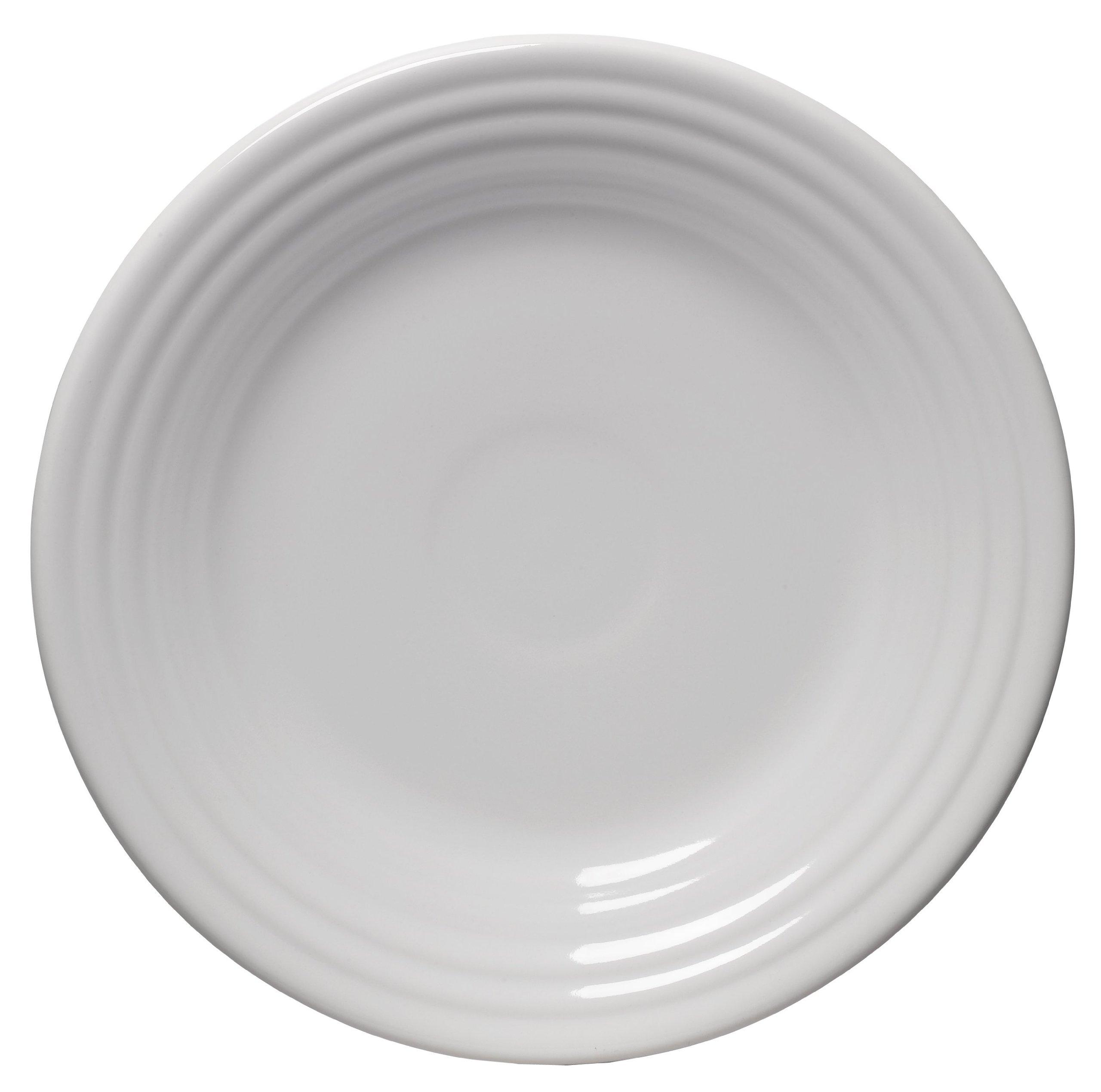 Fiesta 9-Inch Luncheon Plate, White