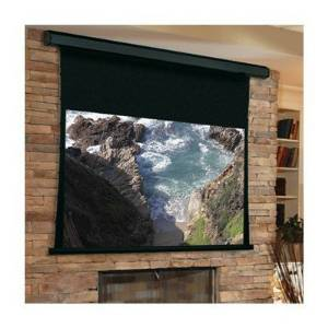 "Premier Grey Electric Projection Screen Viewing Area: 96"" H x 96"" W"