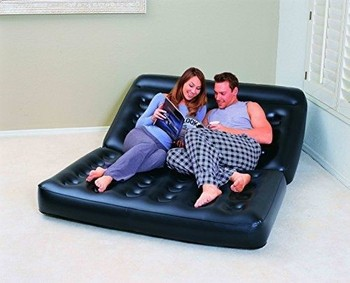 Bestway 75054 Inflatable Double Multifunctional sofa chair indoor for relaxing lounger air sofa