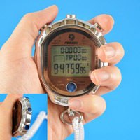 Factory cheap price lanyard sport digital interval timer electronic timer sports quartz stopwatch