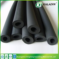 Soft Foam Heat Cold Insulation Pipe Hose Black for Air Conditioner
