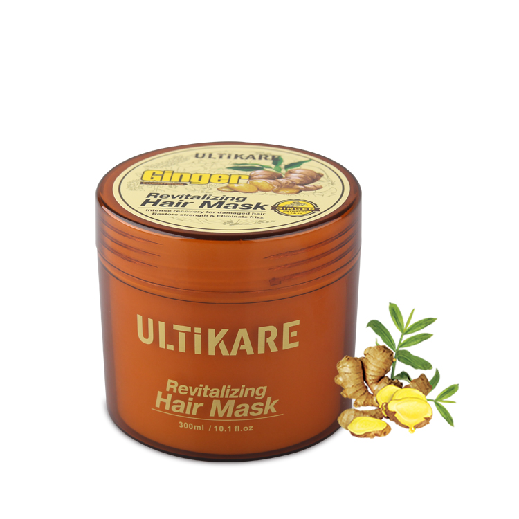 Private label moisturizing organic ginger hair mask for natural hair