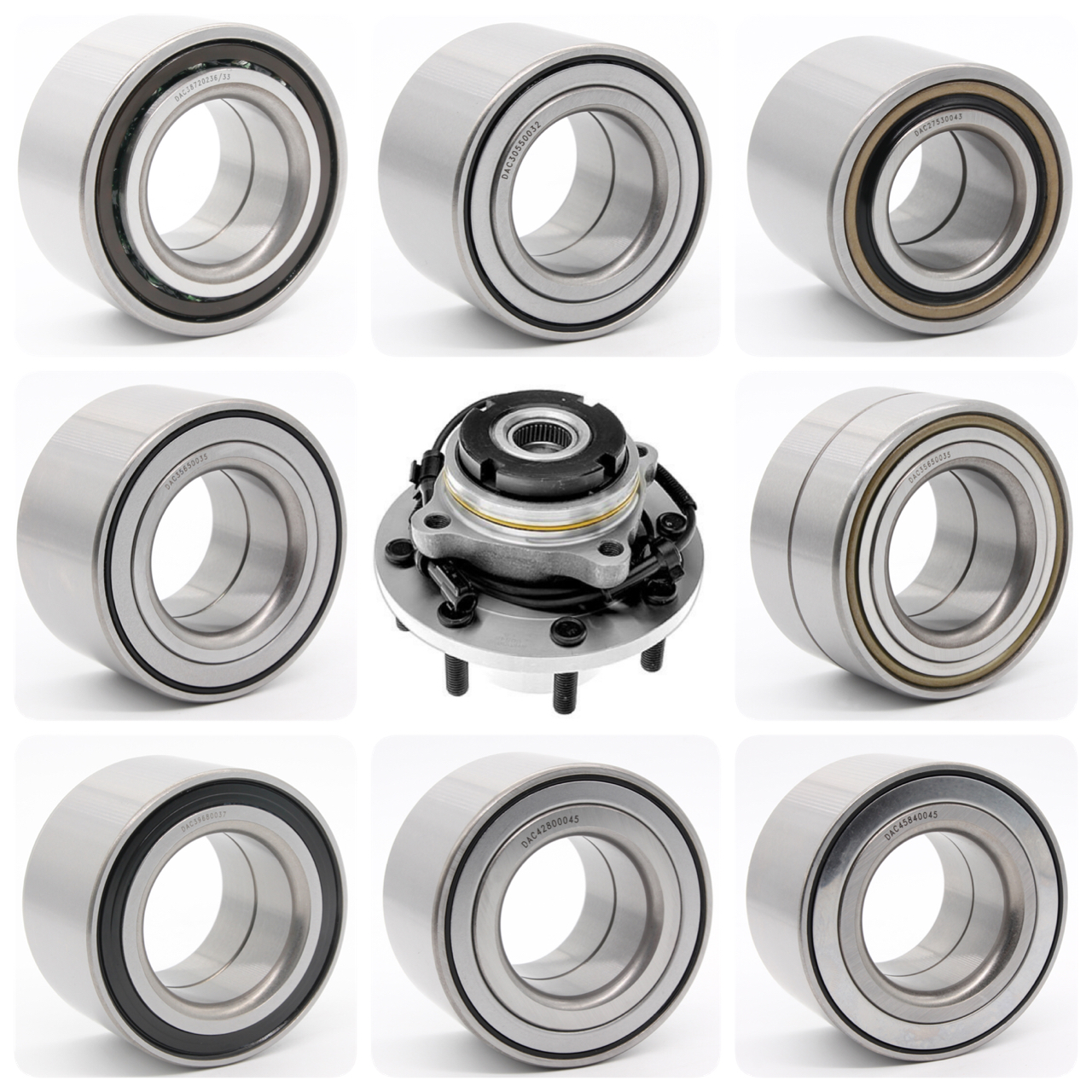 DAC30600337 Good Quality and Price Front Wheel Hub Bearing 30x60.03x37mm