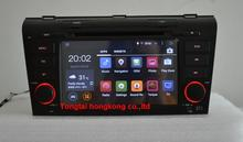7″pure Android 4.4.4 for MAZDA 3  2004 2009 car dvd,gps navi 3G,Wifi,BT,4 core,16G flash,1080P,1024 x 600,Russian,English