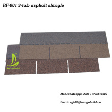 Malaysia popular decorative roofing material 3-tab asphalt shingles sale lowes roofing shingles prices