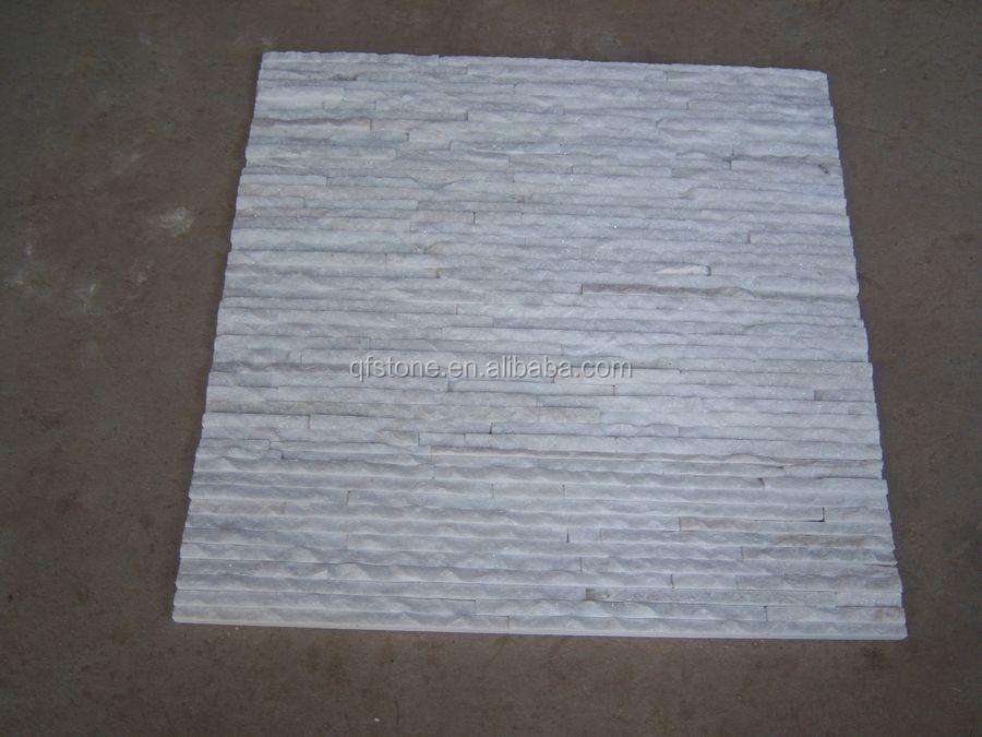 White Stone Exterior interior and exterior wall decorative stone veneer panel white