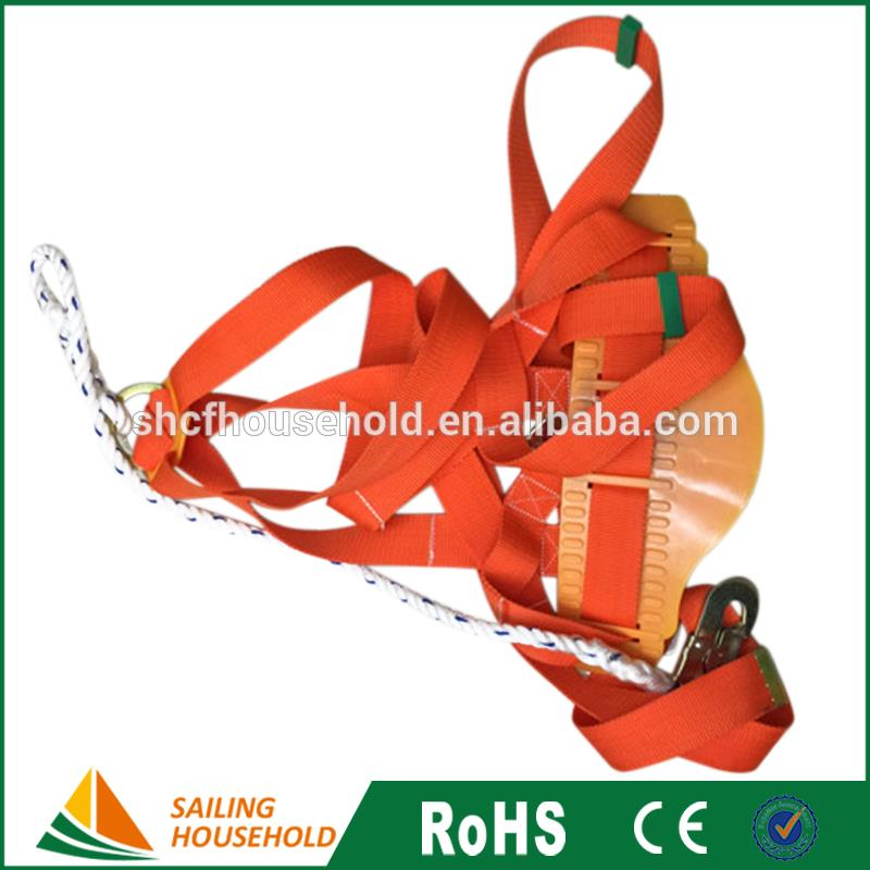 OEM Logo hanging safety belt, safety harness with logo, safety belt accessories