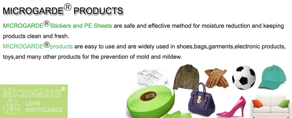 Eco-friendly Shoes Anti Mold Sticker (dmf Free)