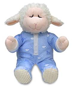 Cuddle Barn Animated Plush Little Lamb Pray with Me Pals Collection - Nate the Lamb (CB4787) by Cuddle Barn