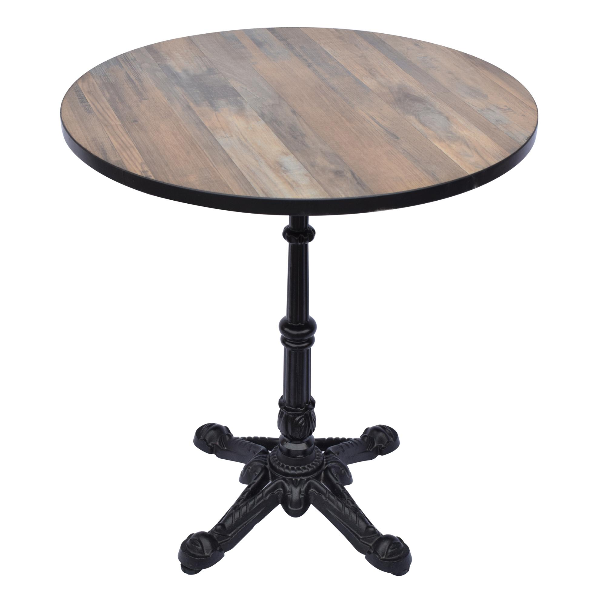Black Wooden Coffee Side Table With