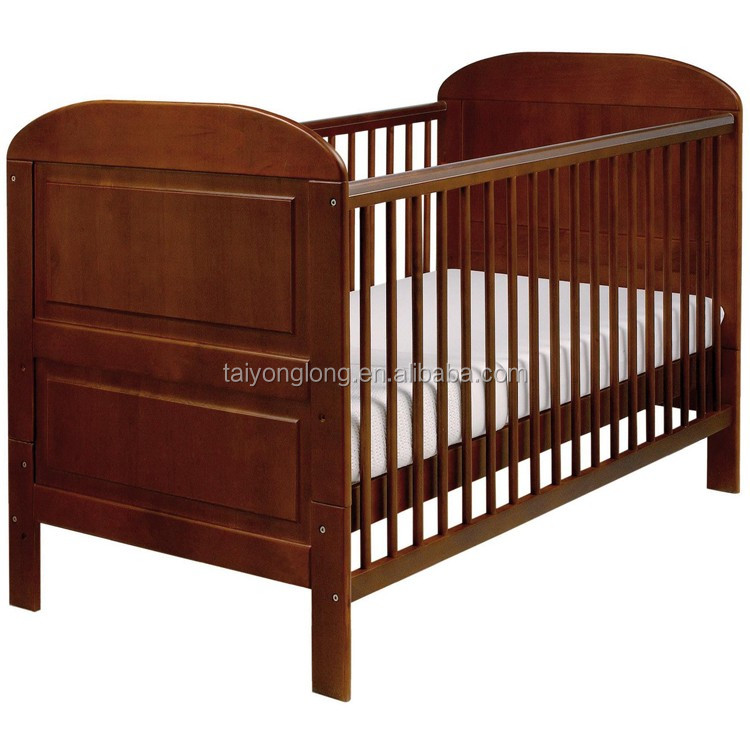 Multi-color Simple Design Solid Wood Furniture Baby Bed ...