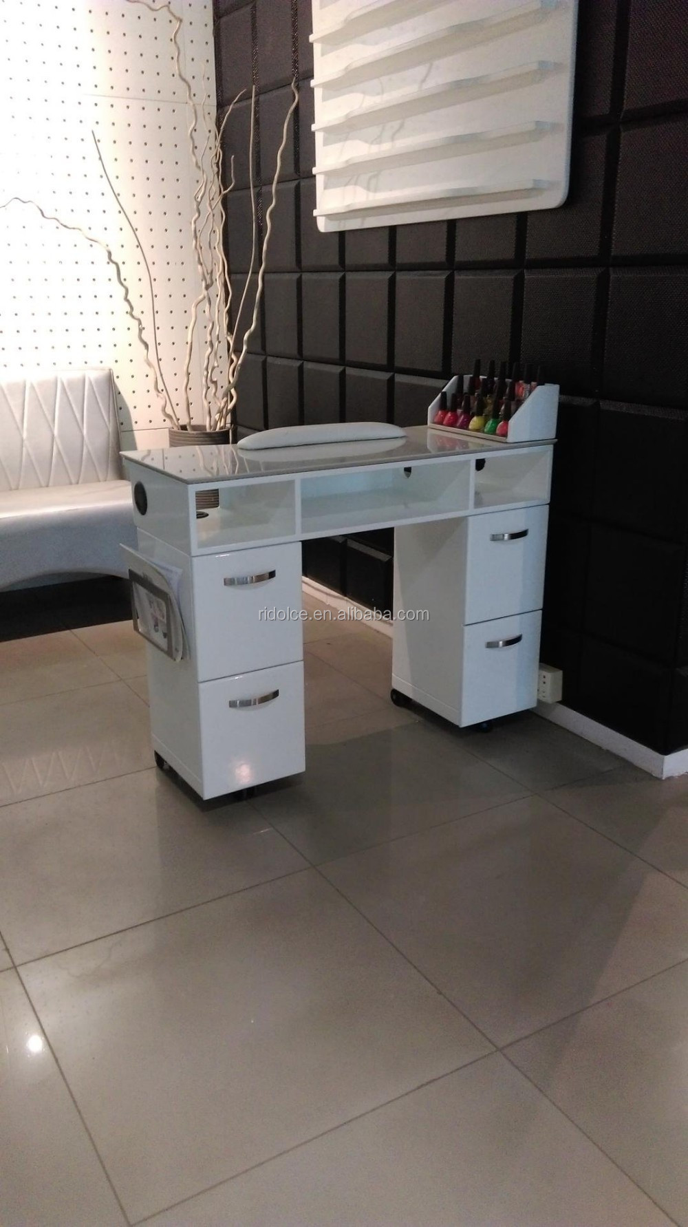 Nail Table Nail Salon Equipment For Sale Salon Furniture Tkn-1ed67 ...