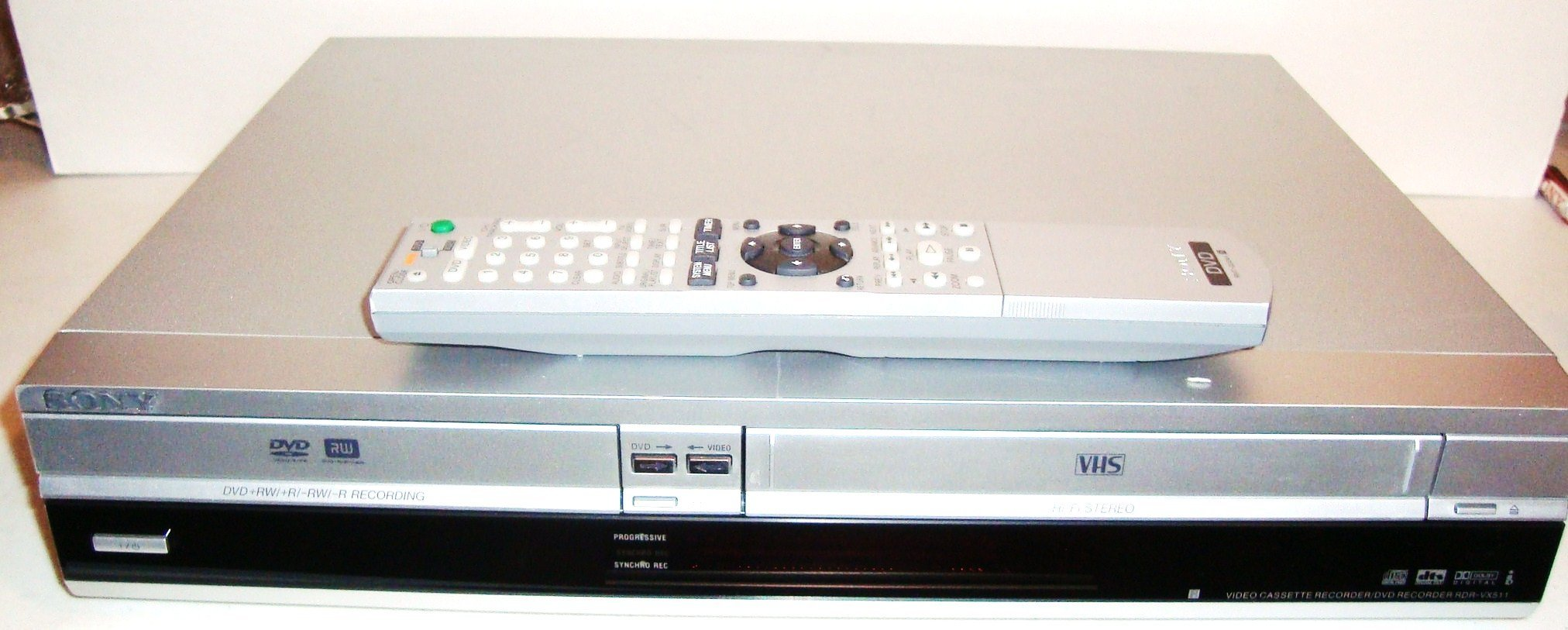 Get Quotations · Sony RDR-VX511 DVD Player/Recorder Combo with VCR