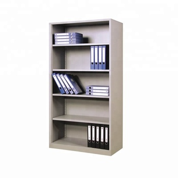 Steel Showcase Furniture No Door Steel Cabinet Open Shelf File