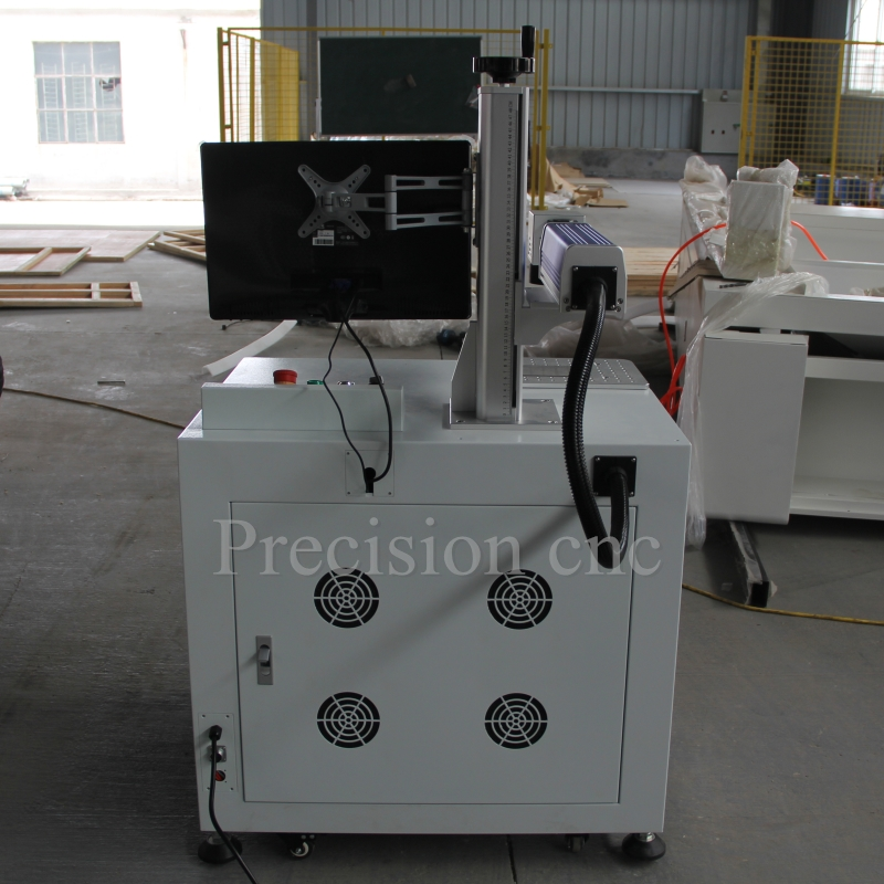 Portable fiber laser marking machine for sale with aluminum alloy table