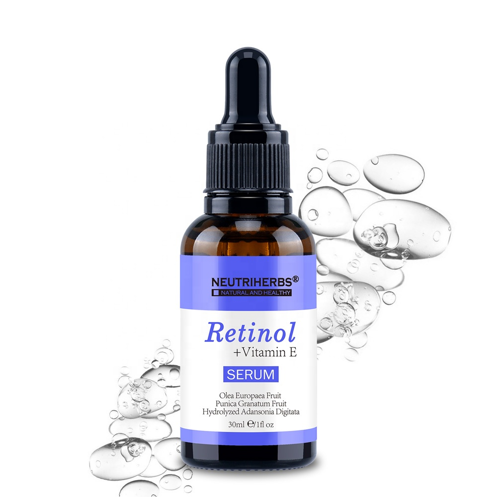 OEM Private Label Beste Vitamin E Anti Aging Akne Gesicht Retinol Serum