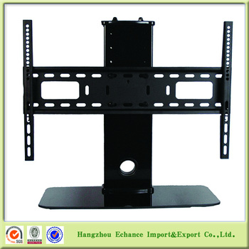 Modern Desktop Indoor Vertically Adjustable Tv Mount With Stand And