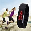 Waterproof Sports Wristwatches Sport Watches Digital Wrist Watch Silicone LED Digital Watch Men Women Sports Pedometers