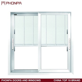 2017 latest window aluminum window and doors price sliding for Windows and doors prices