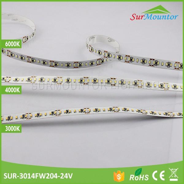 Aliexpress Com Buy 50cm Aluminum Led Smd3014 Chip Under: Heat Sink Flexible 100m Smd 3014 Led Strip 24v Prices