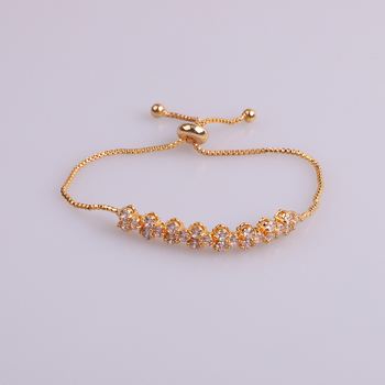 fashion bracelet copper alloy hand chain design factory direct sale for girls