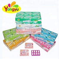 Hot Sell 8 In 1 Pillow Shape Mint Fruity Flavor Halal Chewing Gum