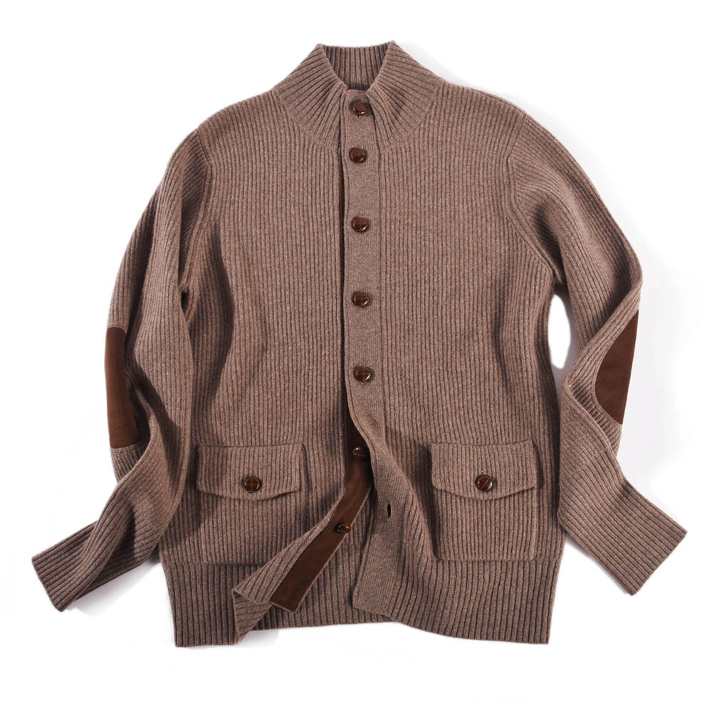cardigan cashmere/wool sweater for man XG-037
