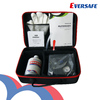 Car tire repair kit with air compressor