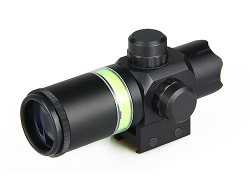 1.5-6X24 optical rifle hunting scope with green fiber for weapon compact rifle sight GZ1-0269