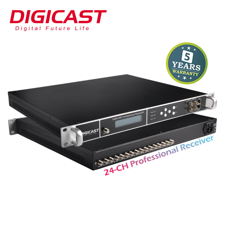 Digital TV Kabel Headend IRD Satelit Receiver dengan DVB-T MPEG4 Tuner untuk Spts IP Video Decoder IPTV Gateway